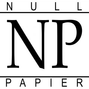 Presse: Null Papier Verlag Logo