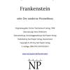Frankenstein bei Null Papier